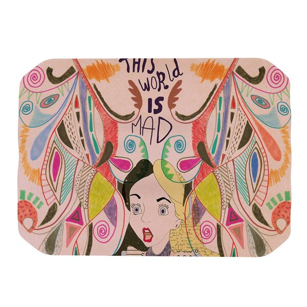 Alice in Wonderland Placemat by KESS InHouse