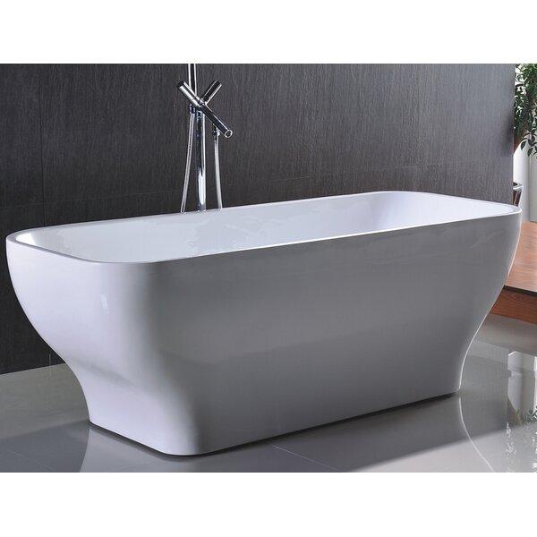HelixBath Taposiris 67 x 27.5 Soaking Bathtub by Kardiel