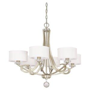 hutton 6light drum chandelier - Capital Lighting