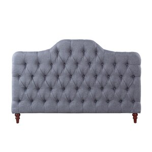 Classic Deluxe Full Upholstered Panel Headboard by Madison Home USA