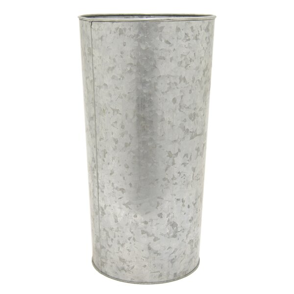 Galvanized Metal Pot Planter by Three Hands Co.