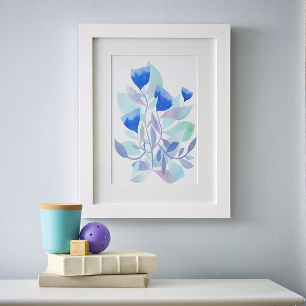 Watercolor Florals Framed Print I by Birch Lane Kids™