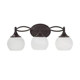 Great deal Blackburn 3-Light Vanity Light By Ebern Designs