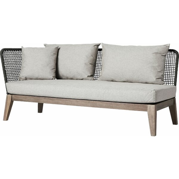 Netta Patio Sofa with Cushion by Modloft