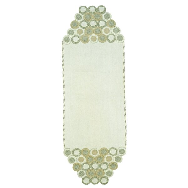 Penny Hand-Crafted Table Runner by Homespice Decor