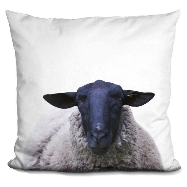 Sheep Throw Pillow by East Urban Home