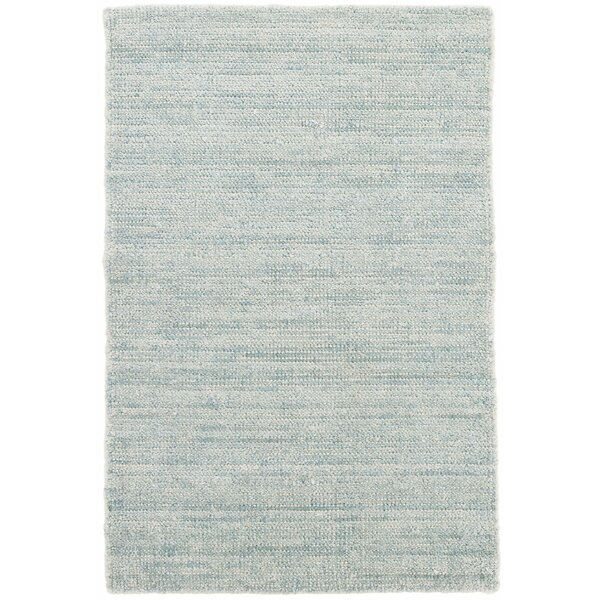 Quartz Hand-Woven Blue Area Rug by Dash and Albert Rugs