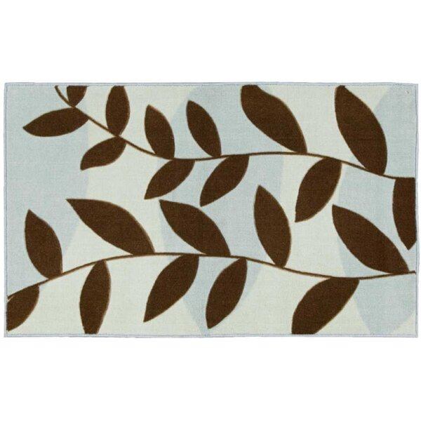 Shannan Blue/Brown Area Rug by Winston Porter