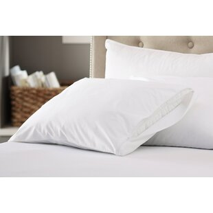 200 Thread Count Cotton Zippered Pillow Protector (Set of 2) ByAlwyn Home