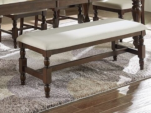 Yorkshire Wood Upholstered Bench by Darby Home Co