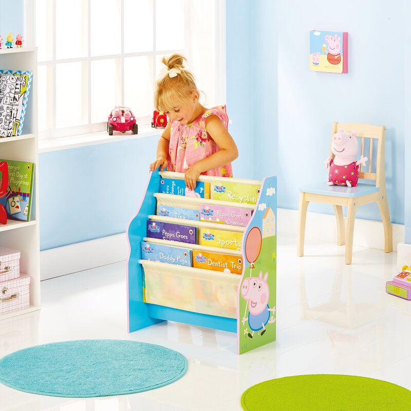 Peppa Pig Sling 60cm Bookcase