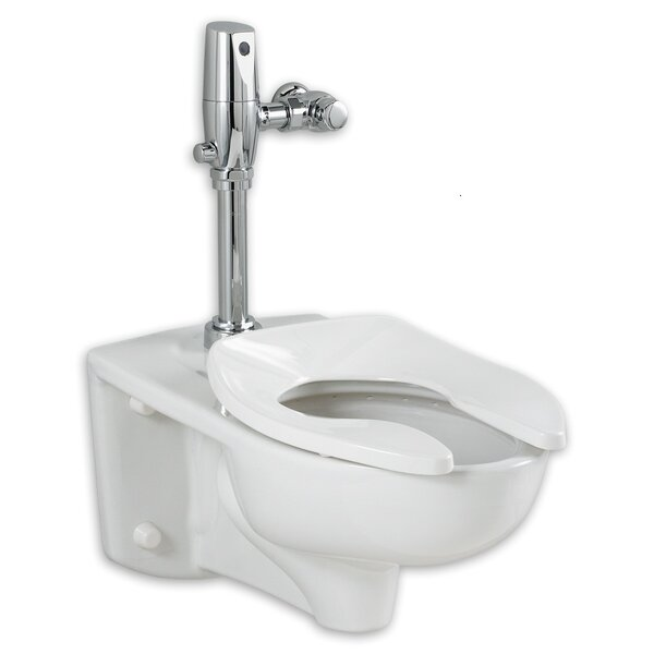 Afwall EverClean 1.1 GPF Elongated One-Piece Toilet by American Standard