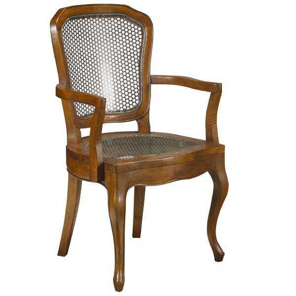Plaisance Solid Wood King Louis Back Arm Chair By One Allium Way