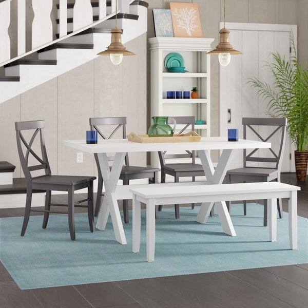 Rossetti 6 Piece Dining Set by Beachcrest Home