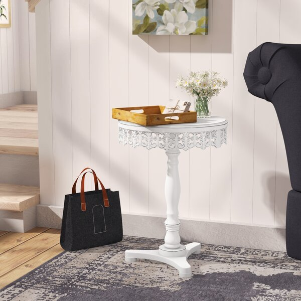 Upton Cheyney End Table by Ophelia & Co.