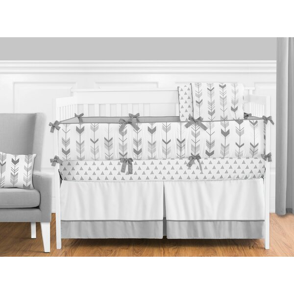 Mod Arrow 9 Piece Crib Bedding Set by Sweet Jojo Designs
