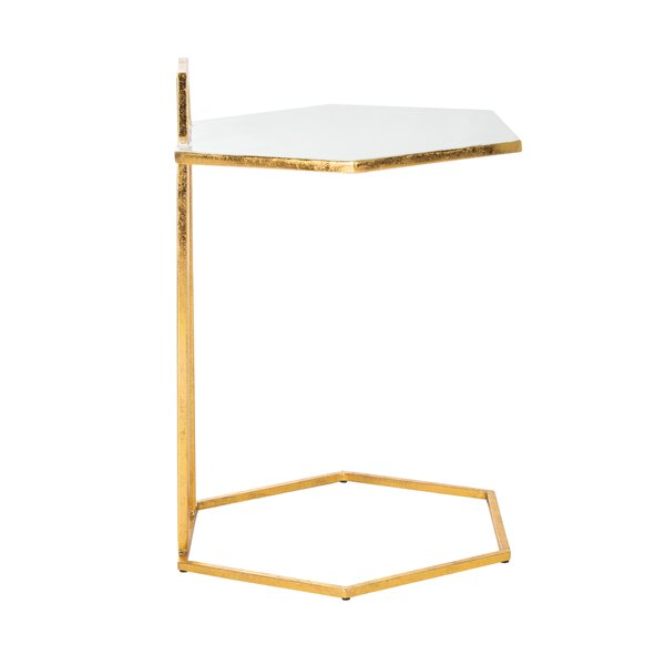 Occoquan Hexagon C End Table by Everly Quinn