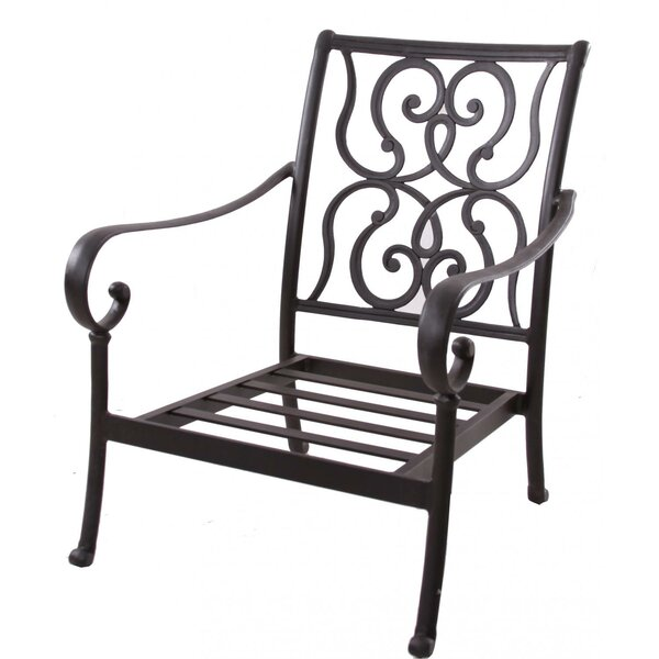 Santa Anita Club Chair with Cushions by K&B Patio