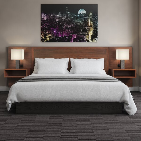 Berjen Wood King Panel Headboard by Samuel Lawrence Hospitality
