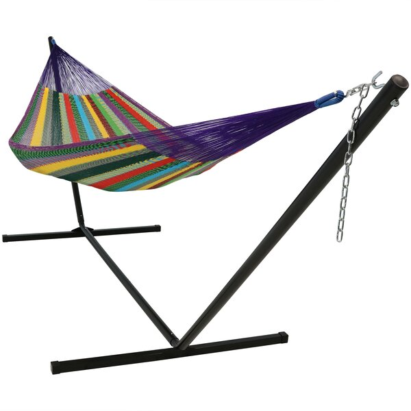 Noah Double Classic Hammock with Stand by Bay Isle Home Bay Isle Home