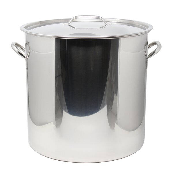 53 qt. Stainless Steel Stock Pot with Lid by Concord Cookware