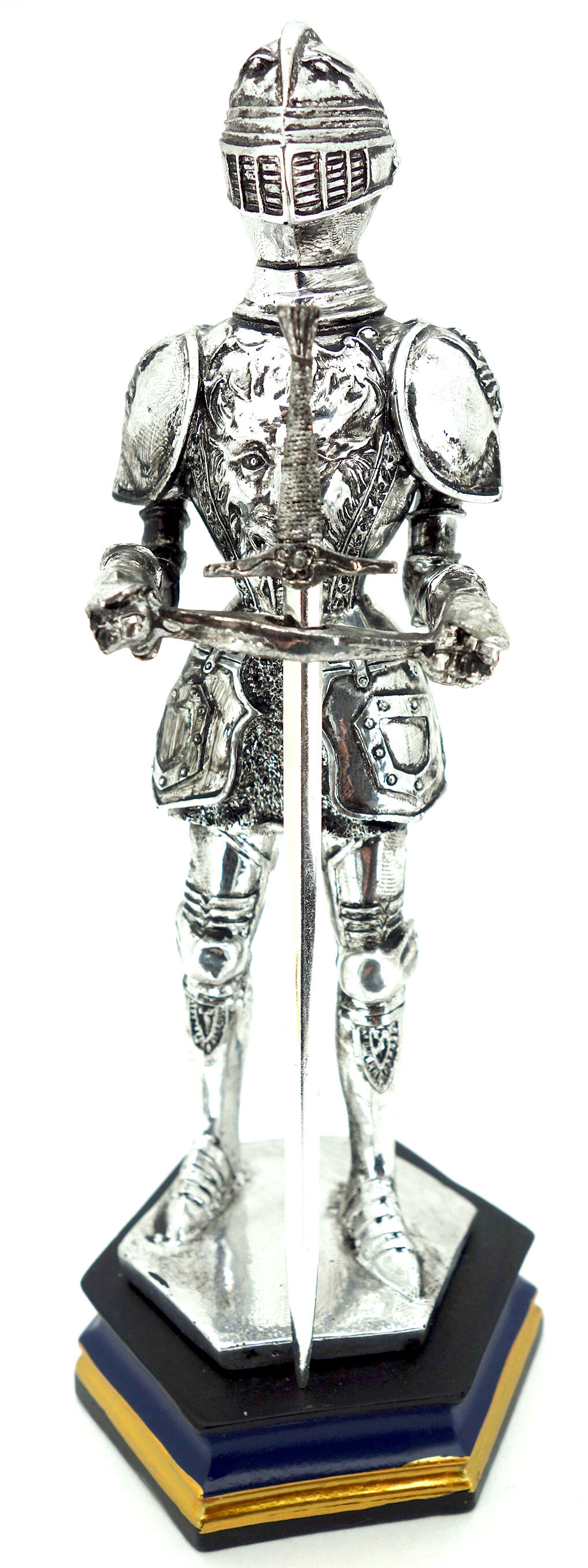 Kmpg Plated Standing Medieval Knight With Sword Figurine Wayfair
