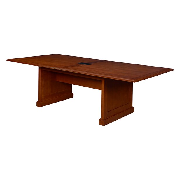 Christofor Rectangular Conference Table by Darby Home Co