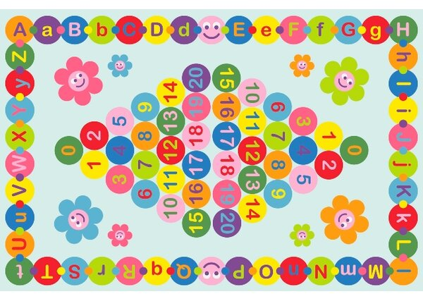 Fun Time Happy Learning Area Rug by Fun Rugs