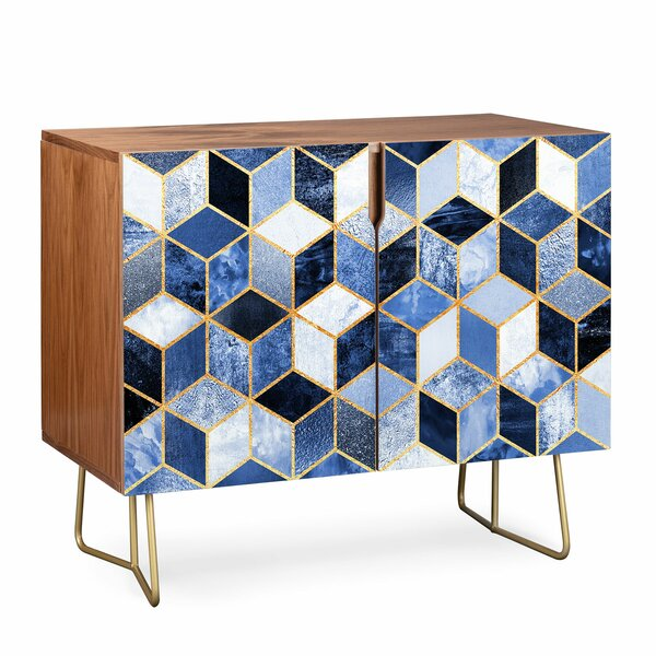 2 Door Accent Cabinet by East Urban Home East Urban Home