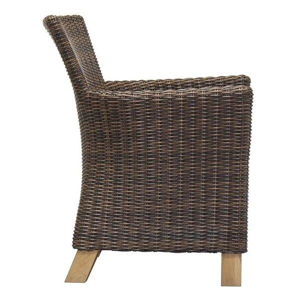 Swenson Patio Dining Chair with Cushion by Bayou Breeze Bayou Breeze