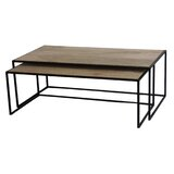 Pugh 2 Piece Coffee Table Set by 17 Stories