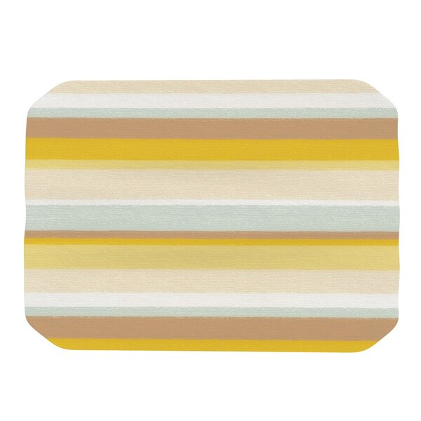 Desert Stripes Placemat by KESS InHouse