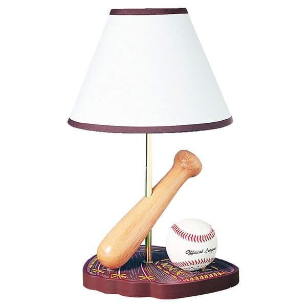 Betsy Baseball 15 Table Lamp by Zoomie Kids
