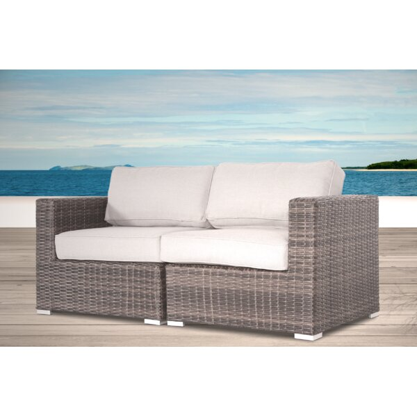Eldora Loveseat with Cushions by Sol 72 Outdoor Sol 72 Outdoor