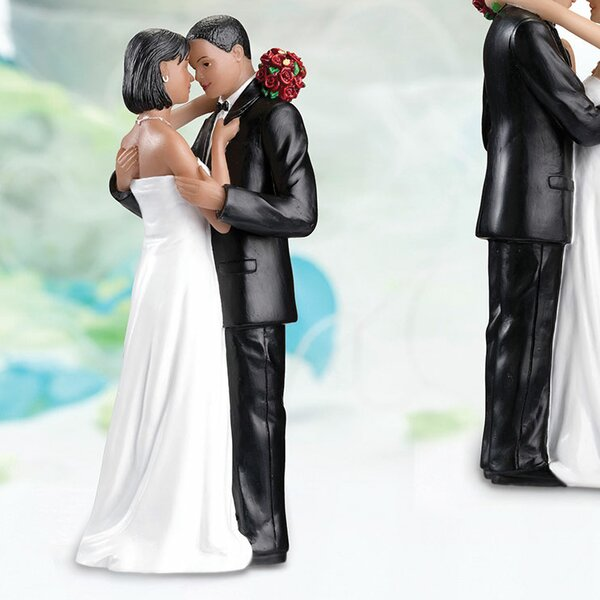 African American Tender Moment Cake Topper by Lillian Rose