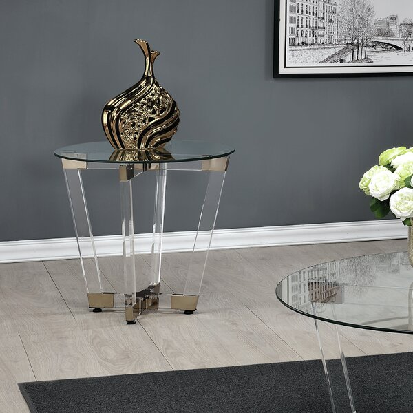 Reinhard End Table by Mercer41