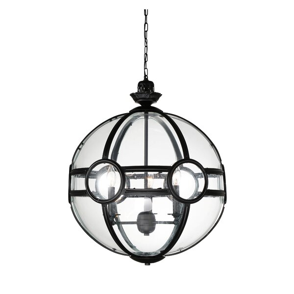Fanning 3-Light Chandelier by Darby Home Co