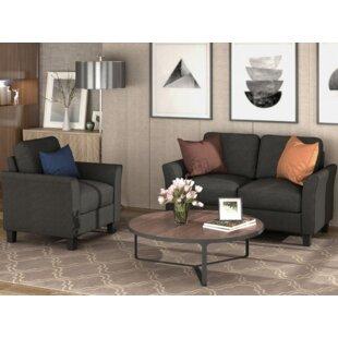 Haroldine 2 Piece Living Room Set by Red Barrel Studio®