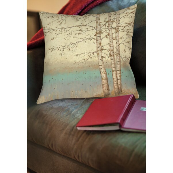 Addis Square Printed Throw Pillow by Loon Peak