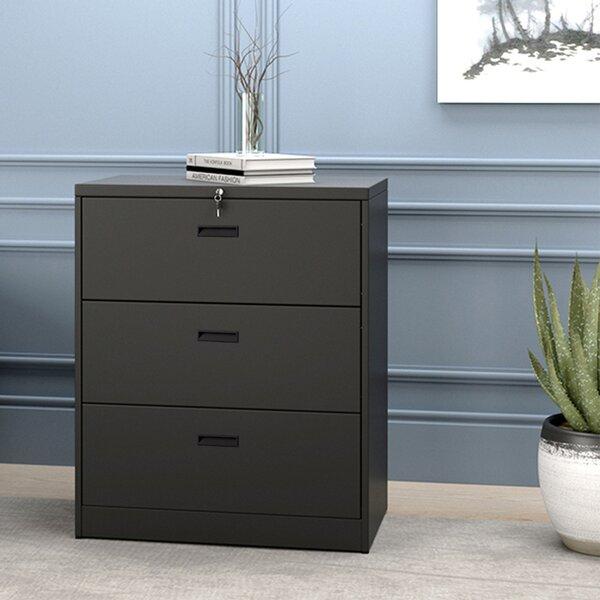 Alvine 3-Drawer Vertical Filing Cabinet