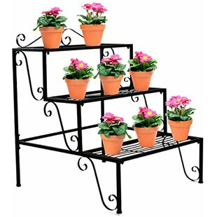 Outdoor Planter Stand Outdoor plant stands youll love wayfair workwithnaturefo