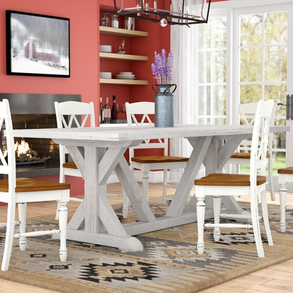 Medders Dining Table 84 by Laurel Foundry Modern Farmhouse