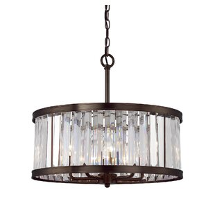 Modern contemporary linear crystal chandelier allmodern apus 5 light crystal chandelier aloadofball Choice Image