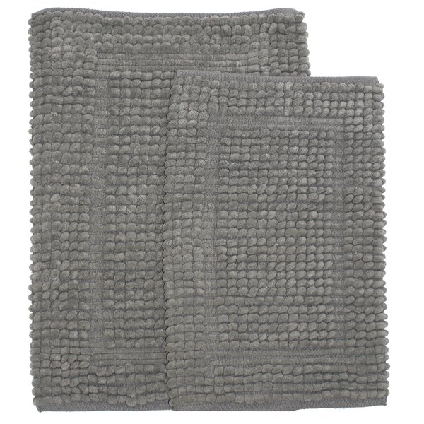 Pamenta 2 Piece Bath Rug Set by Homewear Linens