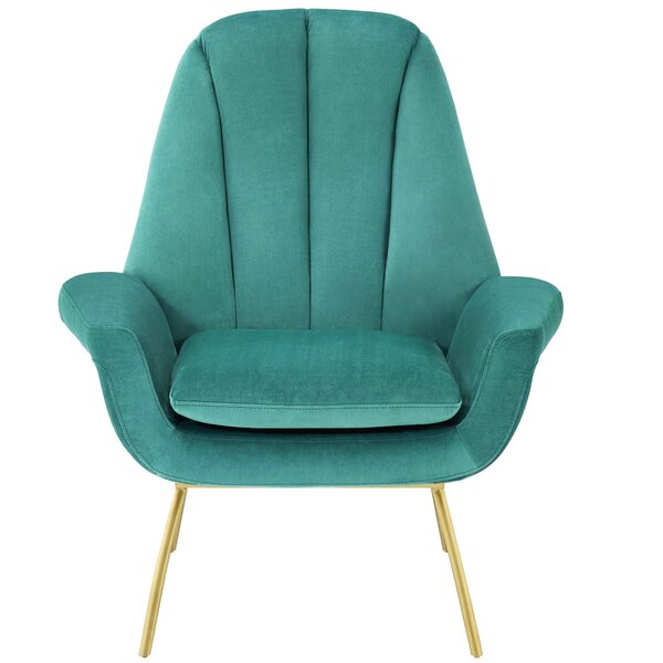 Arnulfo Lounge Chair by Everly Quinn Everly Quinn