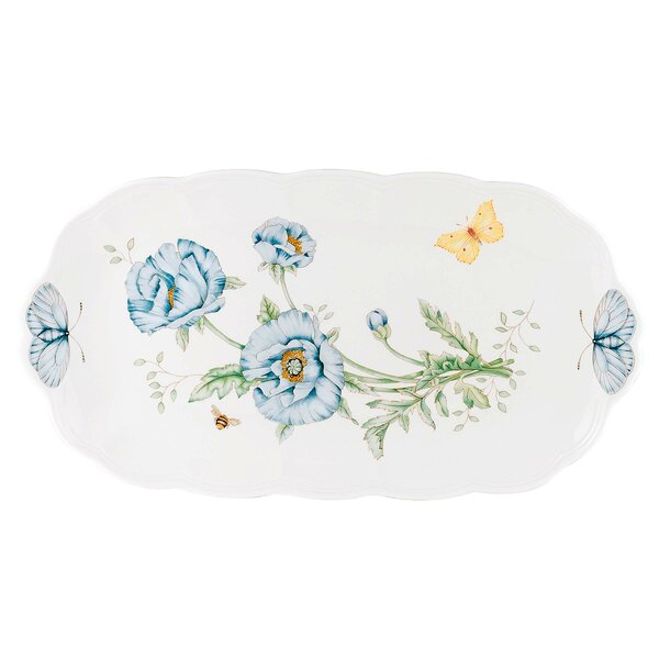 Butterfly Meadow Tray by Lenox