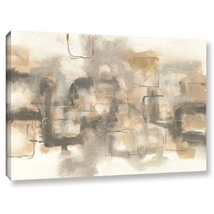 Platinum Neutrals I Painting Print on Wrapped Canvas by Latitude Run