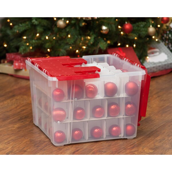 Ornament Storage Box (Set of 2) by IRIS USA, Inc.