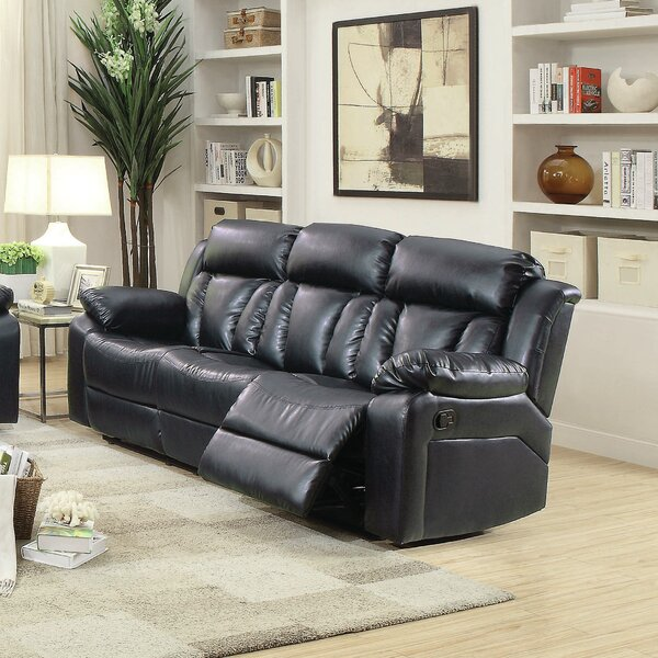 Get Premium Waymire Reclining Sofa by Red Barrel Studio by Red Barrel Studio