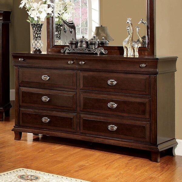 Tolsi 6 Drawer Double Dresser by Hokku Designs